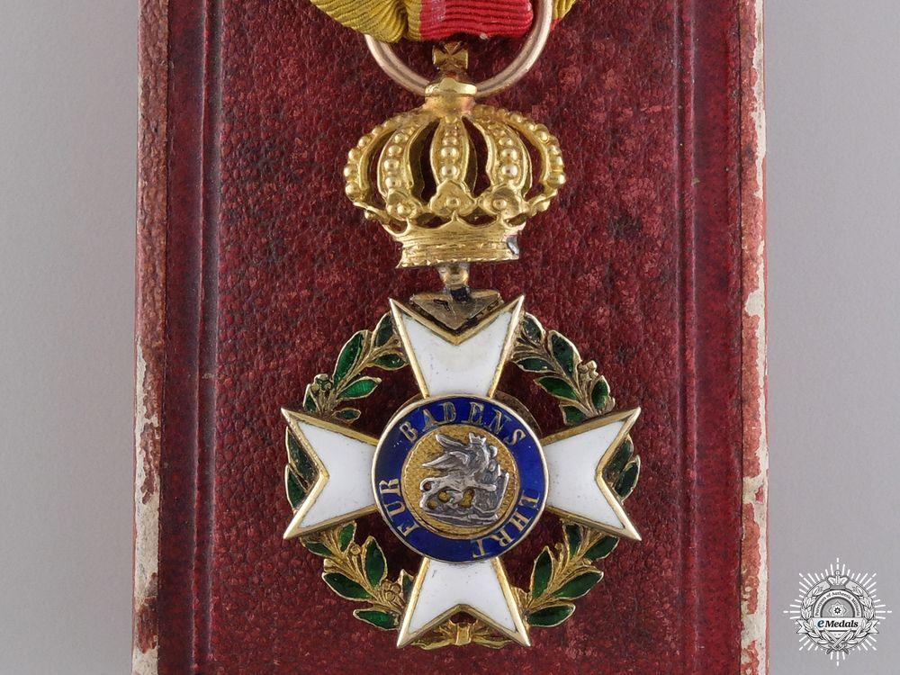 A Rare Military Karl Friedrich Merit Order; Knight's Badge