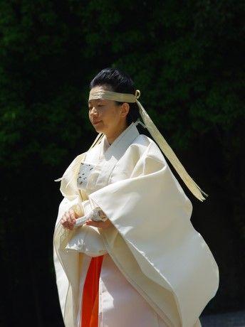 神宮臨時祭主 黒田清子さま 2013.