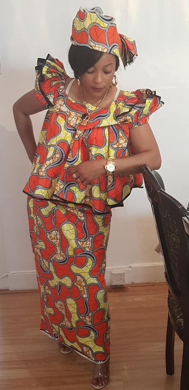 FROM DRC en 2019 Mode africaine robe, Robe africaine et