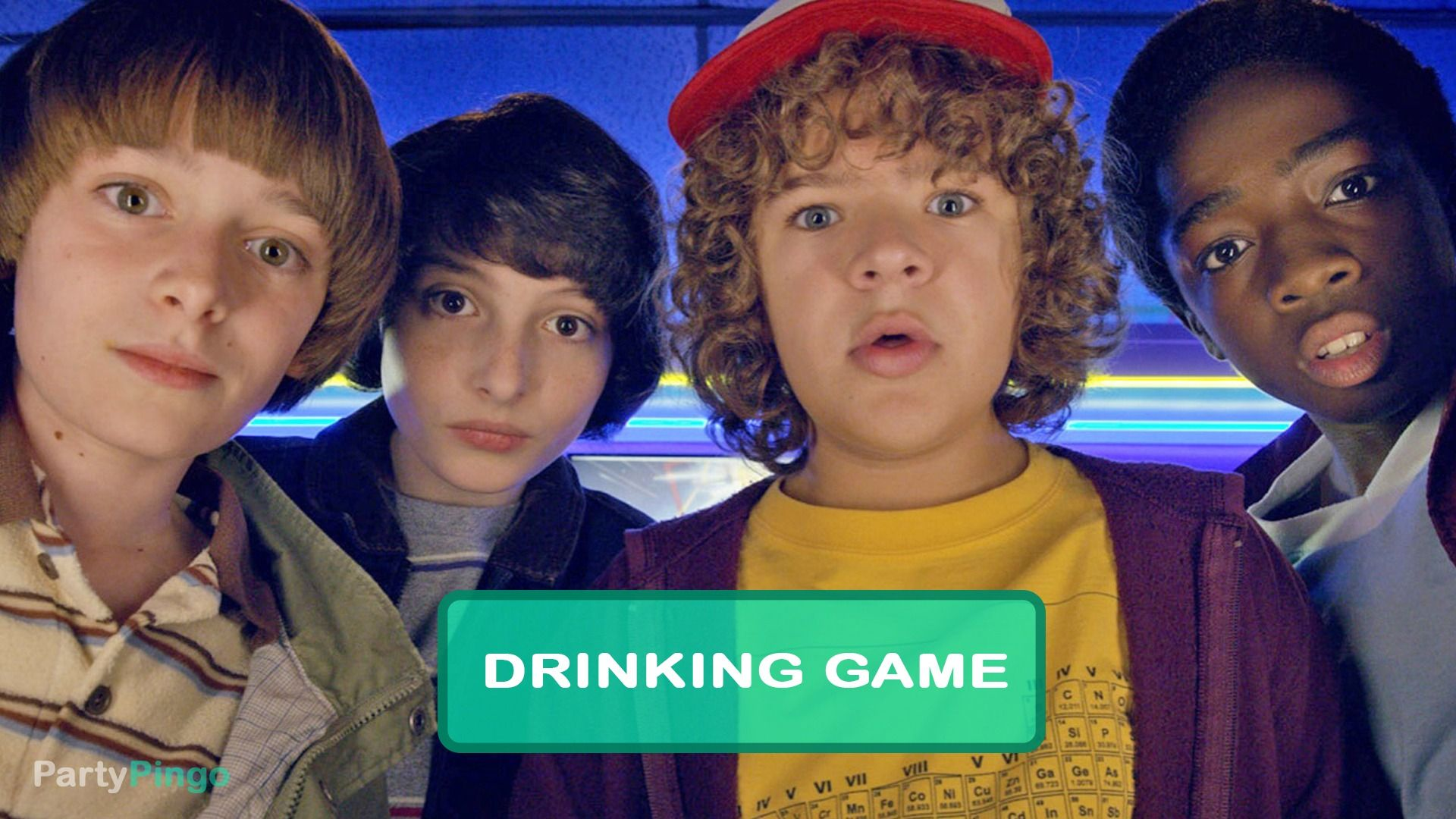Stranger Things Drinking Game in 2020 Drinking games