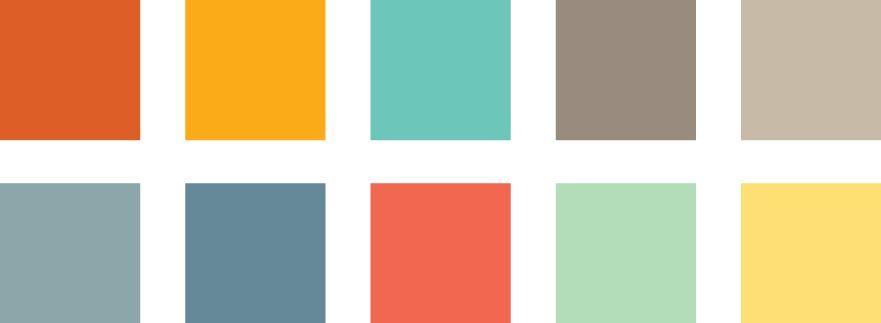 Recent Design Trends Color Lara J Designs Color Palette Bright Brand Identity Colors Gender Neutral Colors