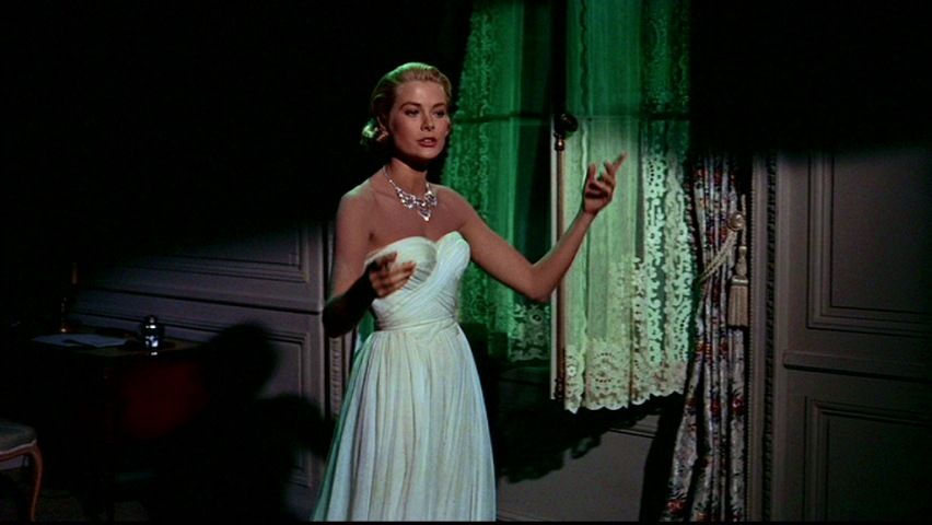 A vision in white: Grace Kelly in To Catch a Thief.