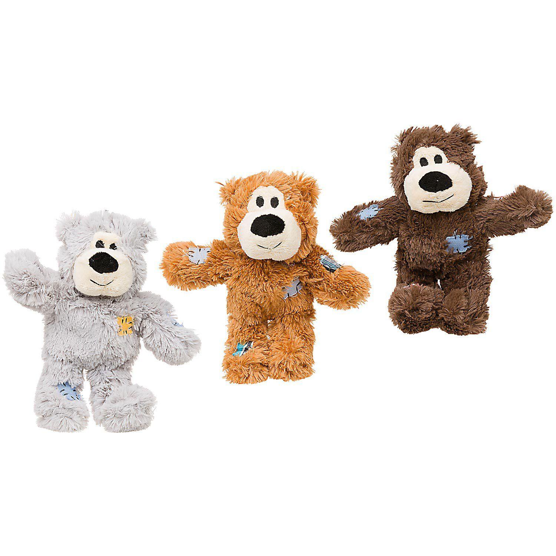 Kong Wild Knots Bear Dog Tug Toy X Small Assorted Dog Toys