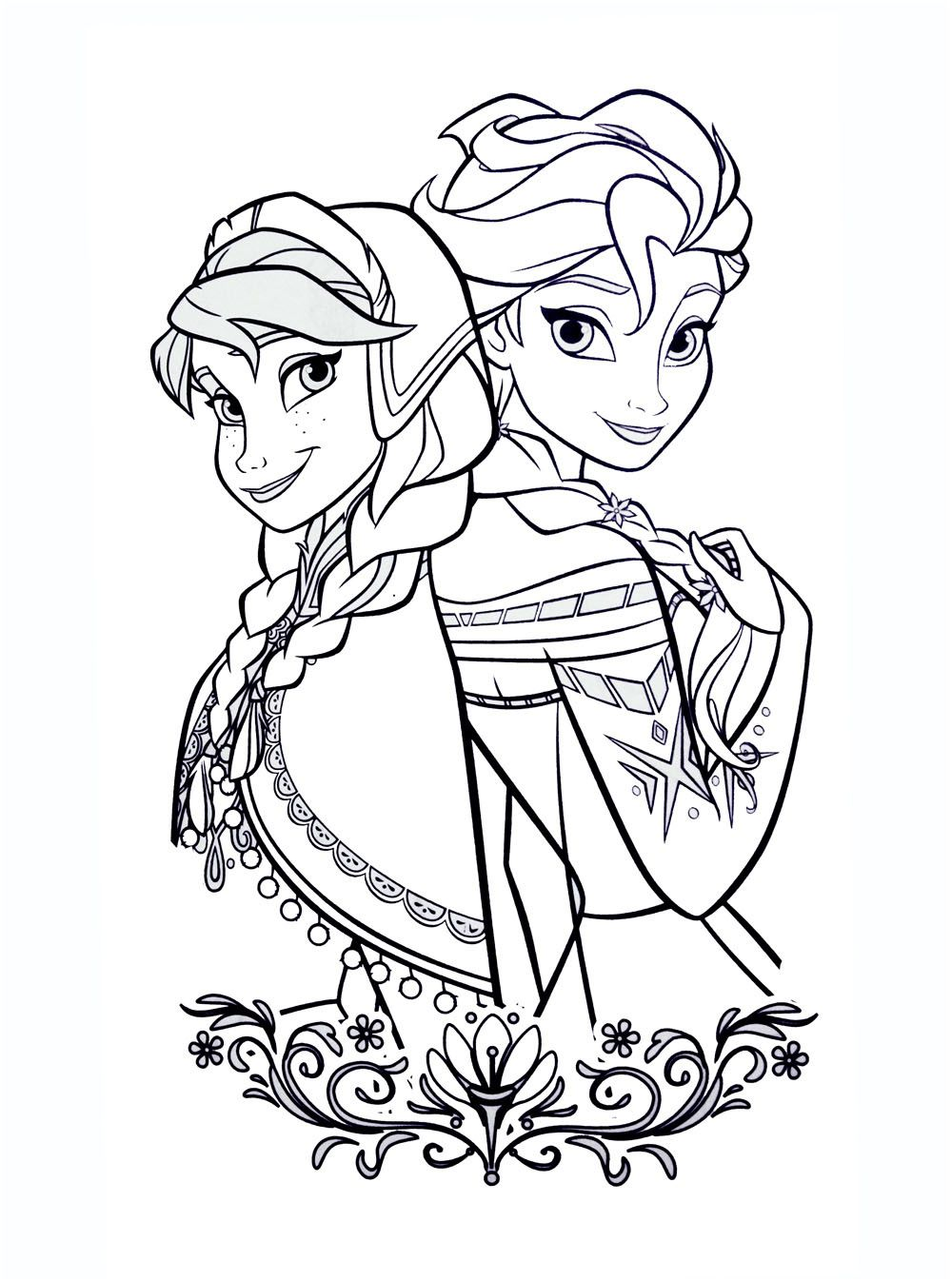 10 Authentique Coloriage Disney Reine Des Neiges Collection Elsa