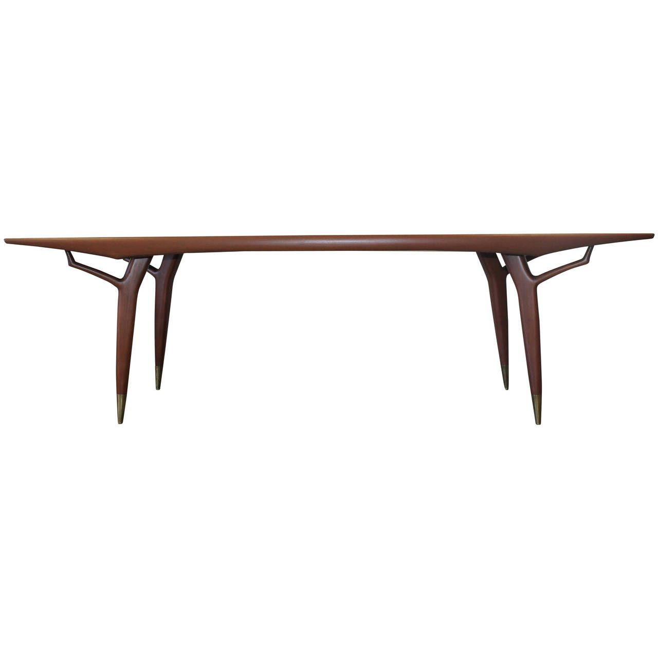 Eugenio Escudero Sculptural 8ft Dining Table, 1950s | Pinterest ...