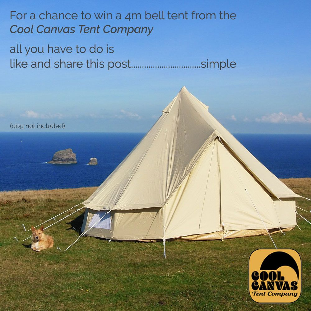 Bell tent give away. Head to our Facebook page for a chance to win a & Bell tent give away. Head to our Facebook page for a chance to win ...