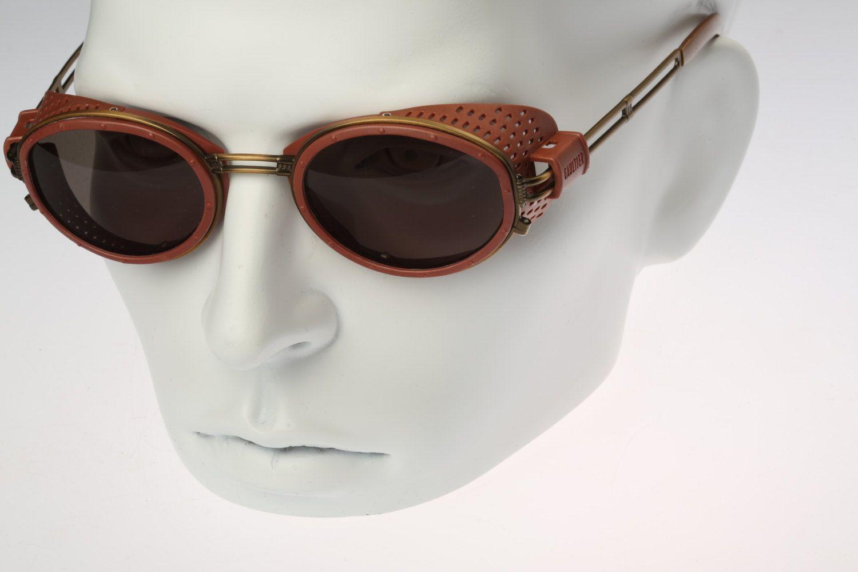 8e43c210029 Jean Paul Gaultier 56-6201   90s   Vintage sunglasses   NOS   Unique  steampunk eyewear by CarettaVintage on Etsy