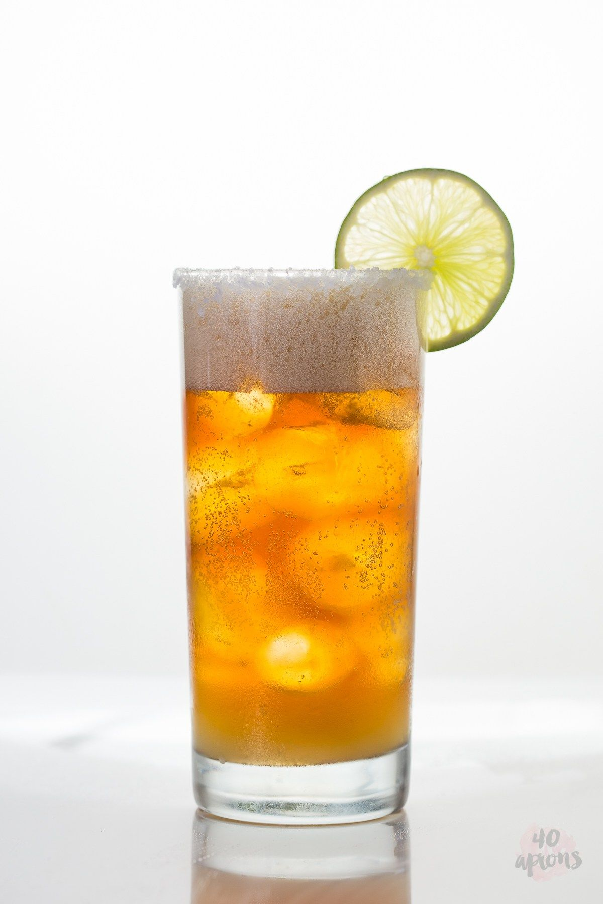 Chelada {Mexican Beer Cocktail} - So refreshing and so easy.
