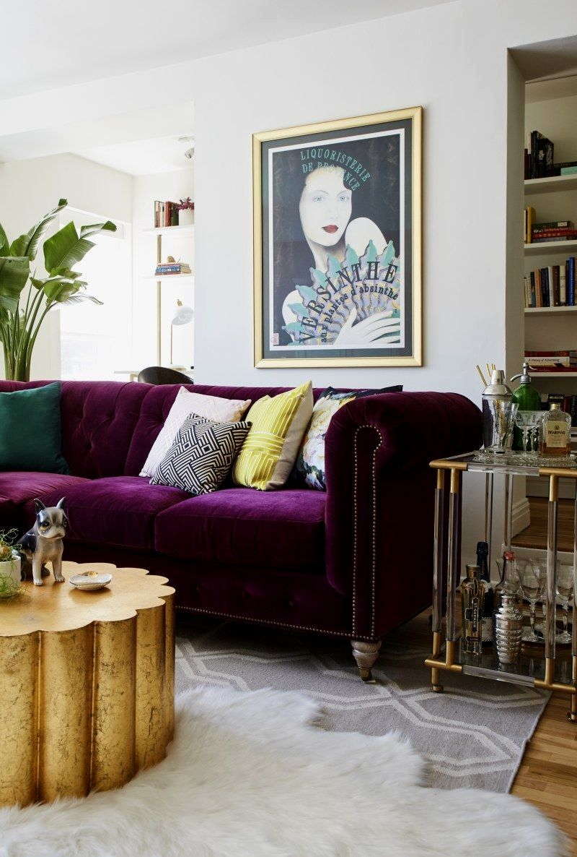 35 awesome minimalist living room decor ideas  purple