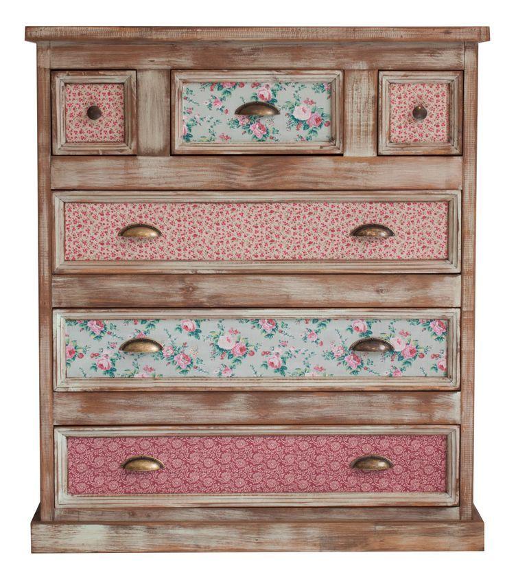 maria coisitas restaurar com romantismo / restaurar con romance - meuble en bois repeint