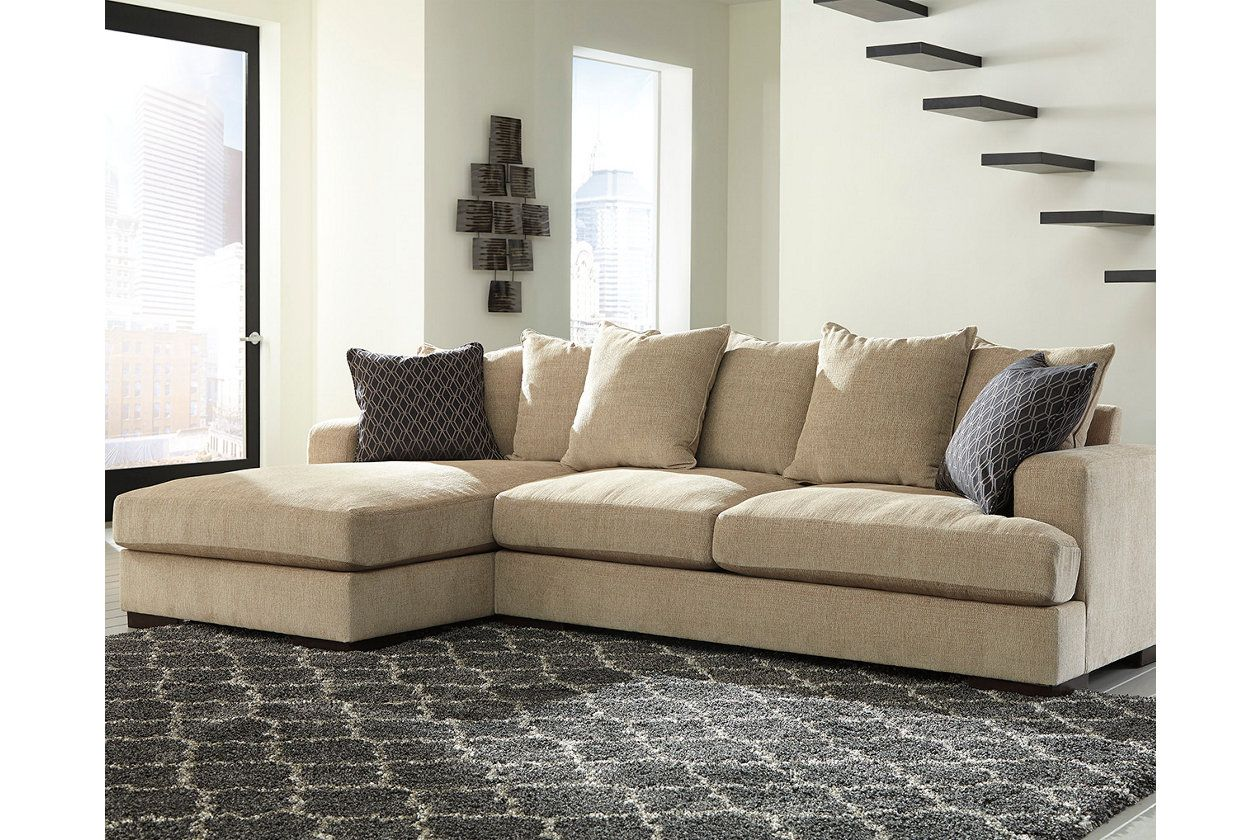 Aquaria 2 Piece Sectional With Chaise Ashley Furniture Homestore Sectional Furniture Room
