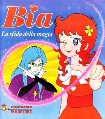 Bia la sfida della magia 1981 magical girl stuff vintage cartoon