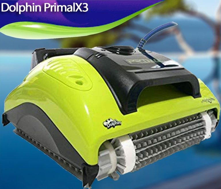 Dolphin Primalx3 Review Robotic Pool Cleaner Best Robotic Pool