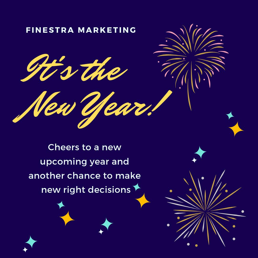 Happy New Year Digital Marketing Marketing Web Marketing