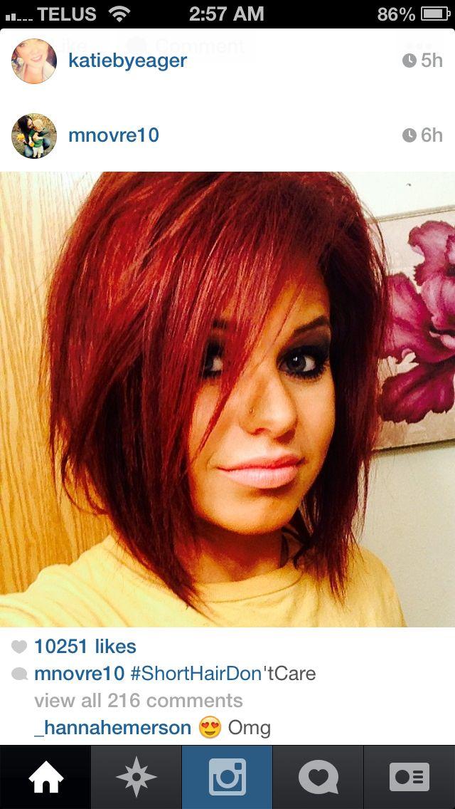 Chelsea Houskas Bestie Megan Loveee Her Hair Colour Cut Gorgeous Girlies