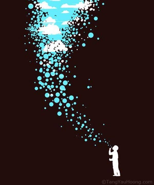 Surprisingly Genius Negative Space Art Examples Negative - 40 genius creative logo designs