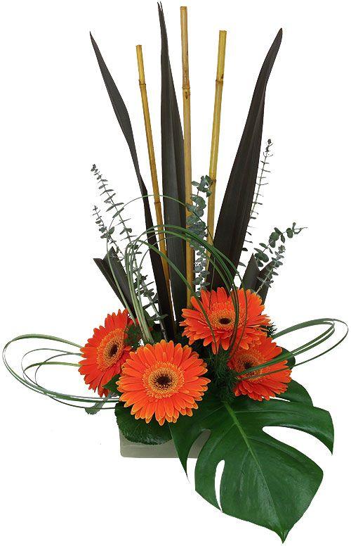 Lush Zen Floral Arrangement A Florists Depiction Of A Zen