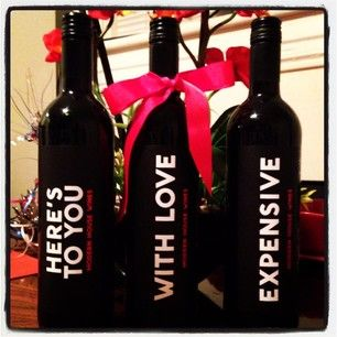 hostess gifts Make it Yours Modern House Wines Gift ideas