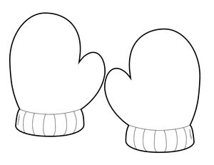Mitten Template Google Search Mittens Template Templates