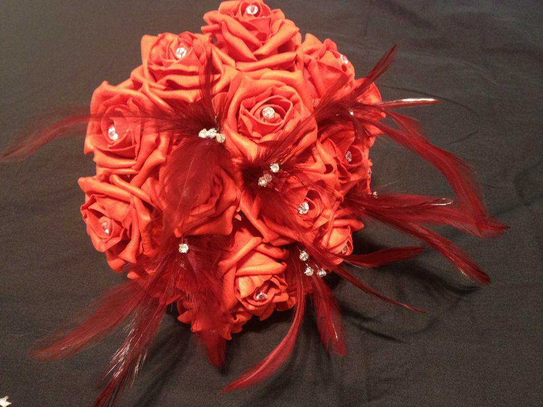 Claret Wedding And Claret Bloominlovelydirect Silk