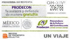 Para promover la defensa del contribuyente, el Sistema de Transporte Colectivo puso a la venta  una edición especial de boletos, a partir del 29 de diciembre.