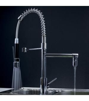 Professional Kitchen Faucet With Pull Out Spray 0323f