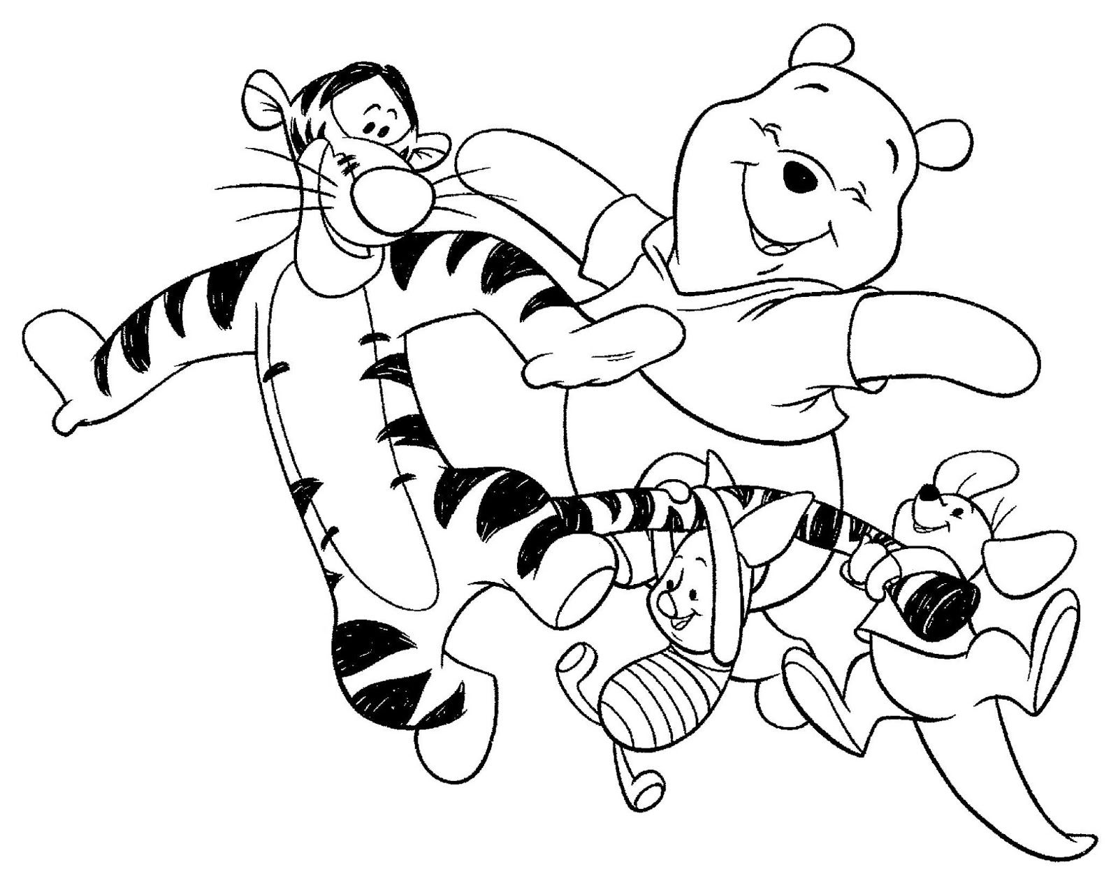 2003. Have some coloring fun with WINNIE the POOH