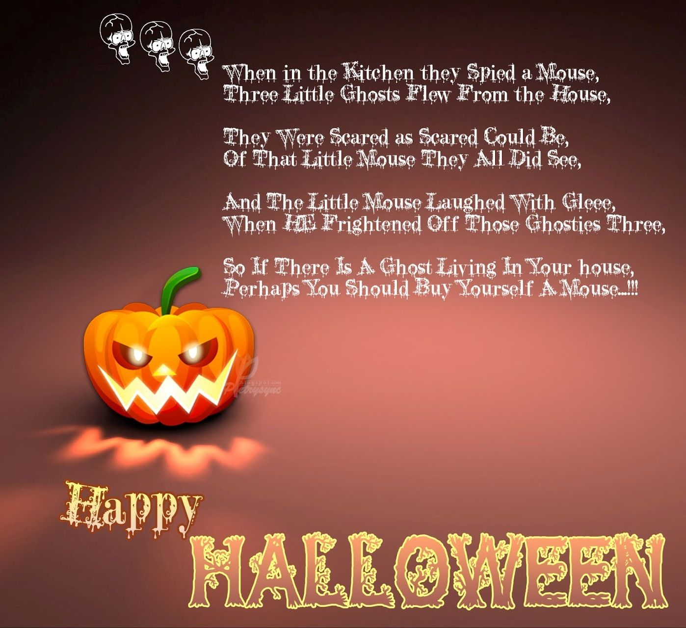 Happy Halloween Quotes And Sayings: One Line Quotes For Happy Halloween
