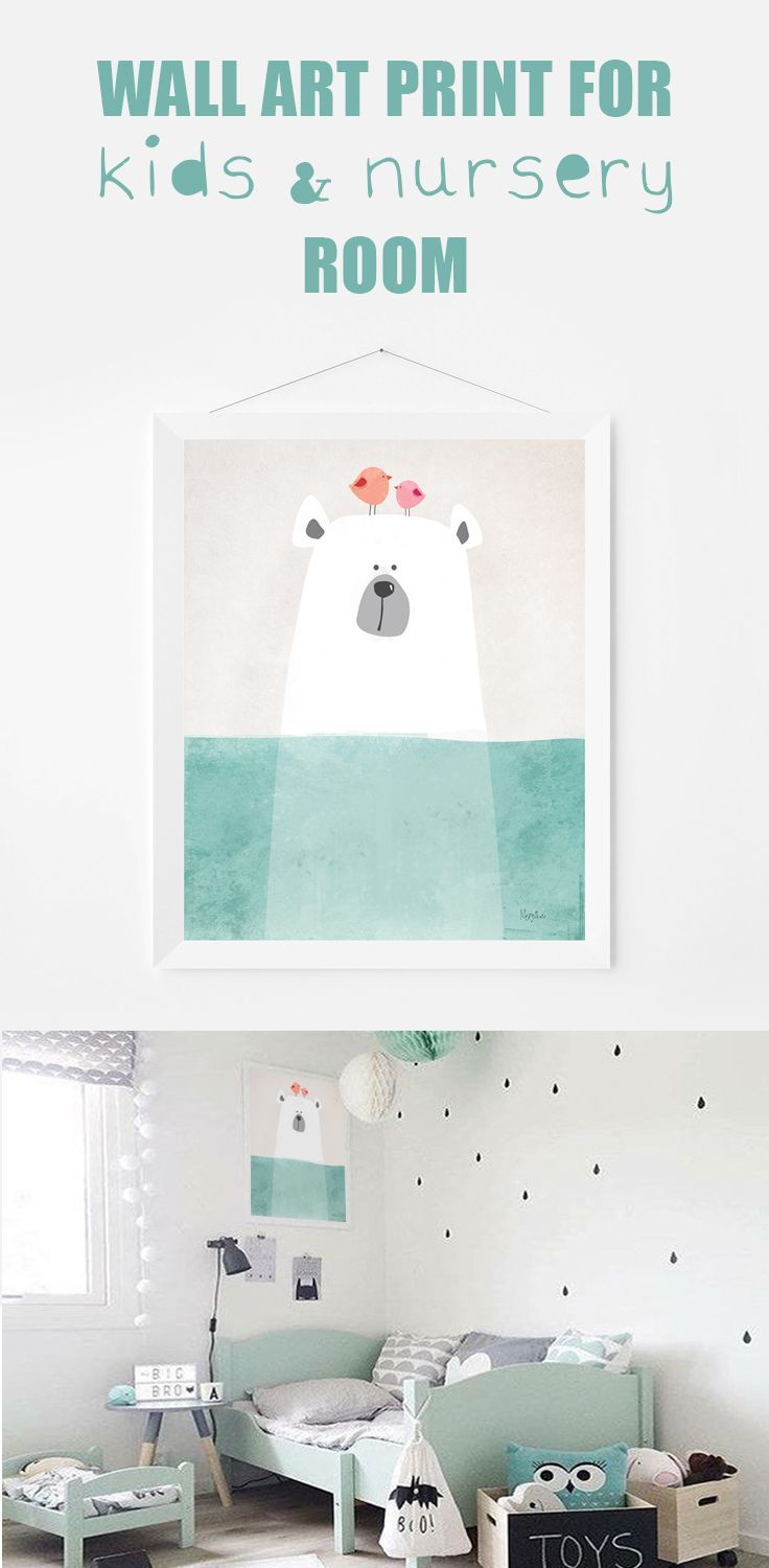 Wall art print wall decor printable art illustration print with