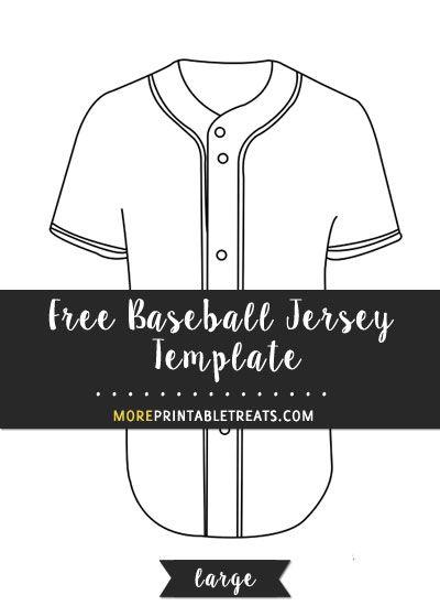 Free Baseball Jersey Template Large Baseball Jerseys Baseball