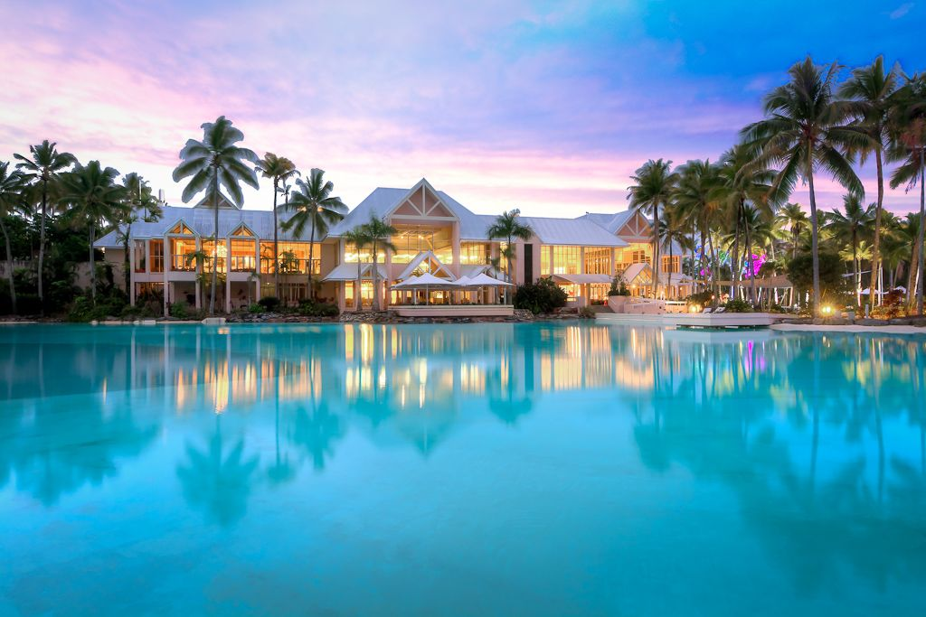 Mirage Resort Port Douglas Queensland a short stroll to this amazing main pool from Villa 141