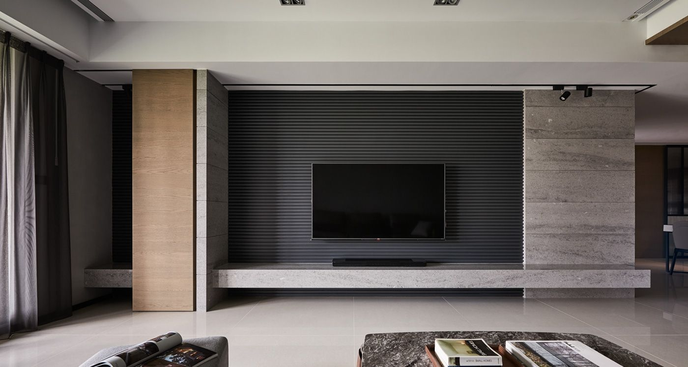 Chang Ho Interior Design Squares On Behance Televizoriai