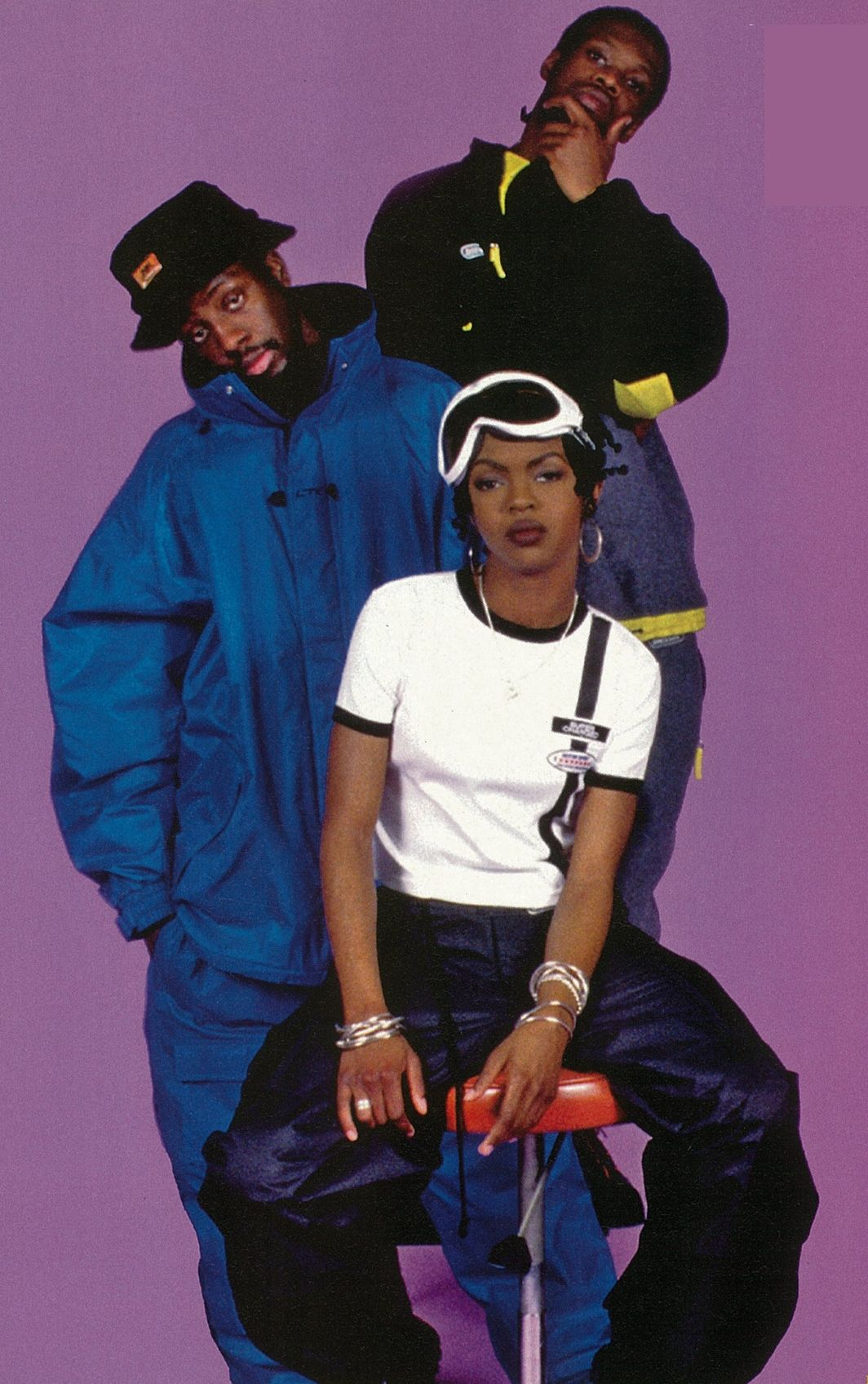Fugees, hip hop group who rose to fame in the mid-1990s. Their repertoire included elements of hip hop, soul and Caribbean music, particularly reggae. The members of the group were rapper/singer/producer Wyclef Jean, rapper/singer/producer Lauryn Hill and rapper Pras Michel. Deriving their name from the term refugee, Jean and Pras are Haitian, while Hill is American. Their sophomore album, The Score, sold 17 million copies worldwide, launching the group into superstardom.