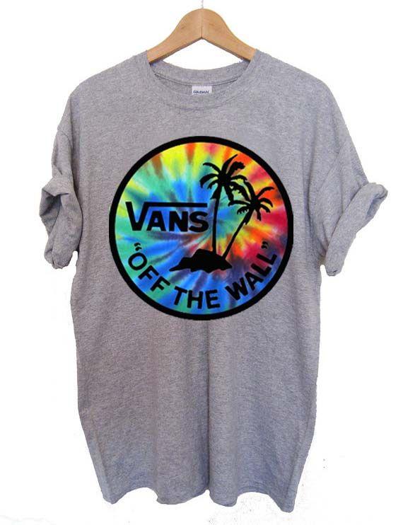 ec3da421769eaf vans tie dye T Shirt Size S
