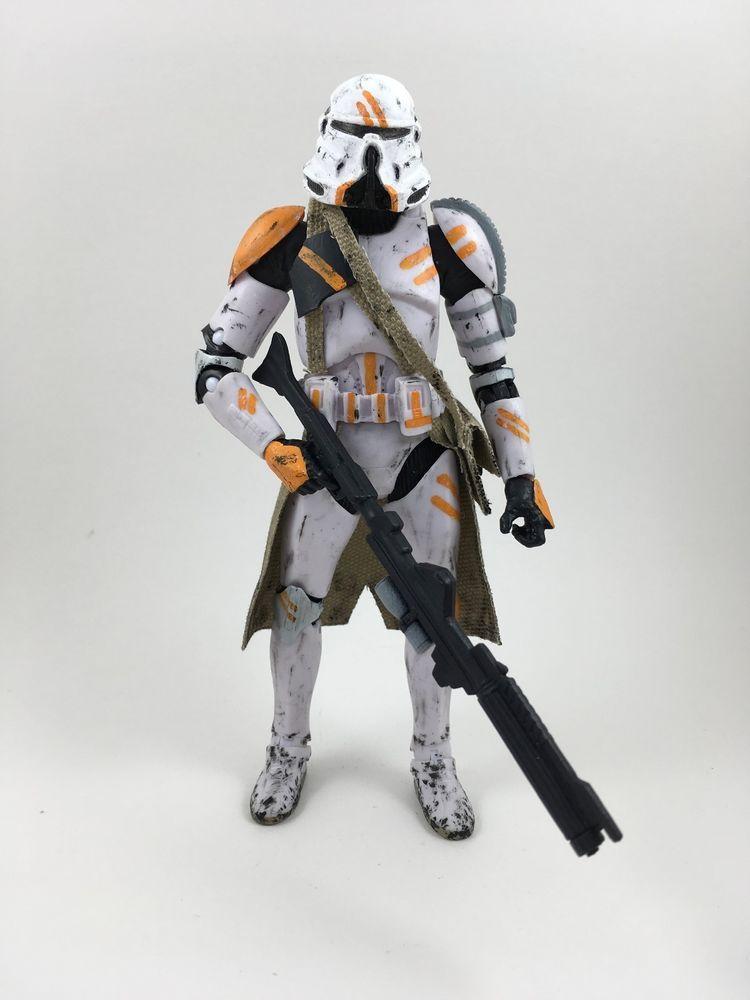 Custom Star Wars Black Series 6in Airborne Trooper Figure Jedi