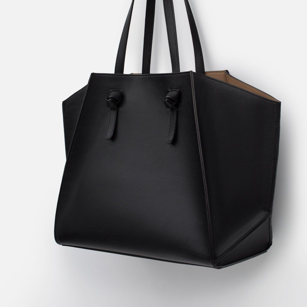 Finally Found The Perfect Bag To Fit All Things Work And Personal Geometric Tote Shoes Bags Woman New In Zara United States