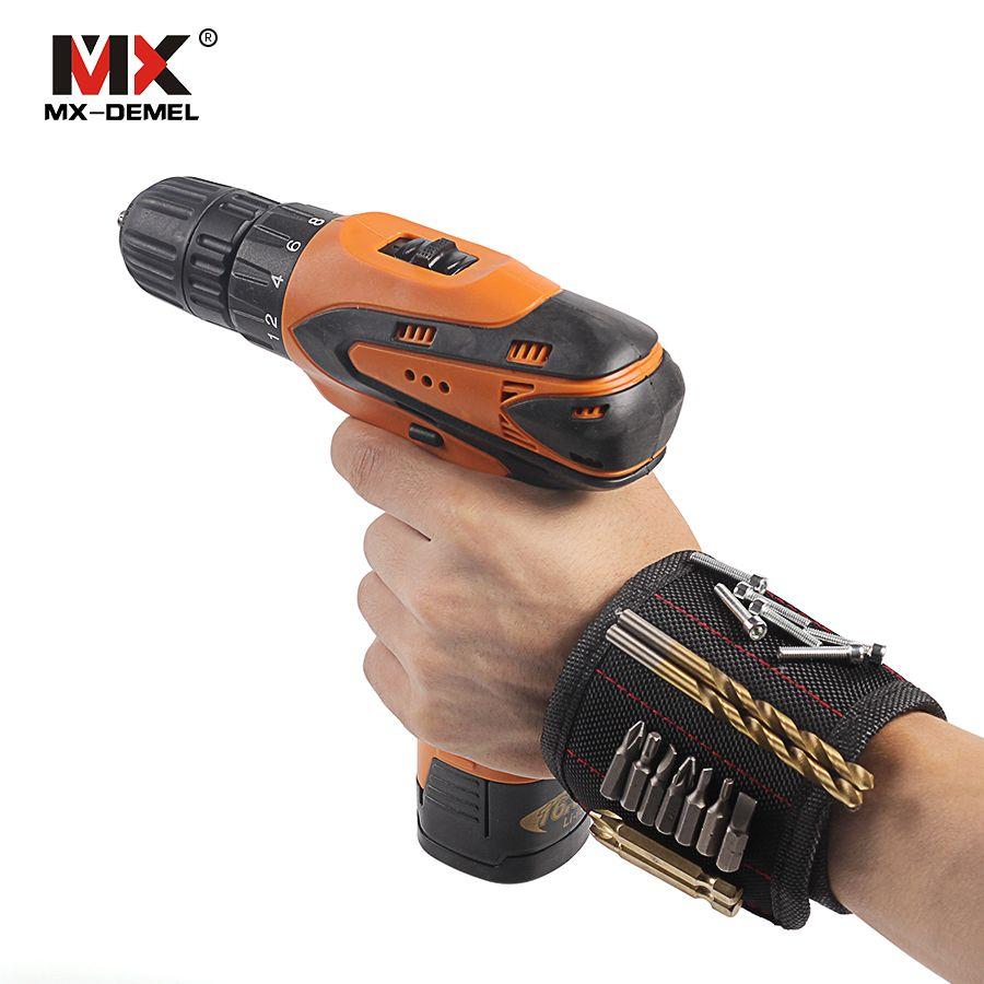 MX-DEMEL Magnetische Armband Einstellbar Tragbare Handgelenk Bands 5 ...