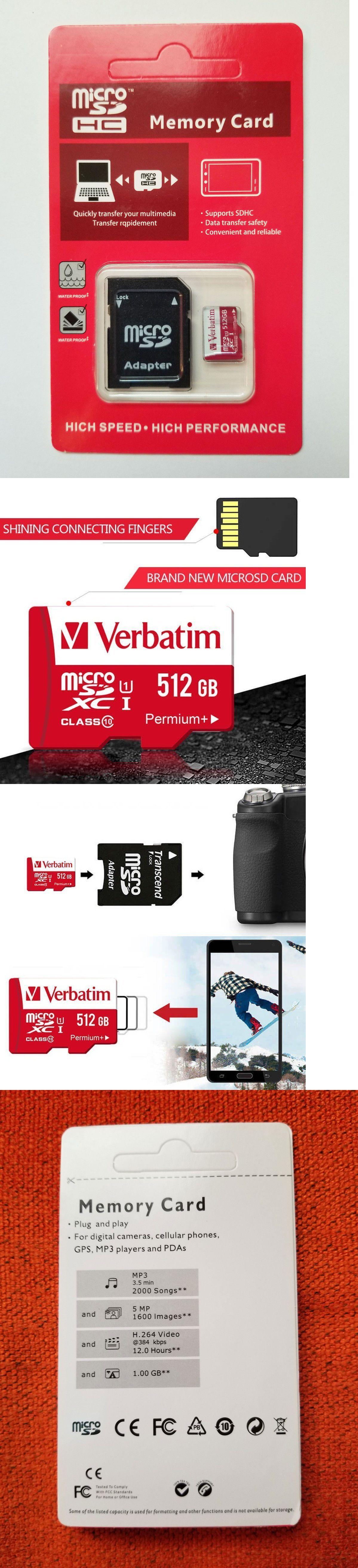 Memory Cards 96991: Verbatim 512Gb Microsdhc Uhs-1 Class 10
