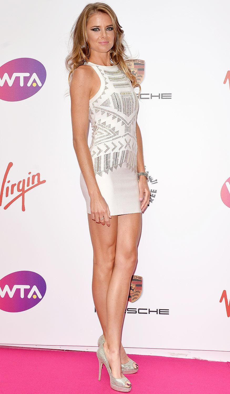 Daniela Hantuchova at the 2014 Pre Wimbledon Players Party.