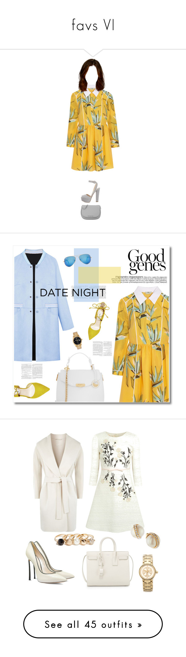 """""""favs VI"""" by imsobeatles ❤ liked on Polyvore featuring Prada, Fendi, Michael Kors, Versace, WithChic, Steve Madden, Ray-Ban, Rolex, DateNight and 60secondstyle"""