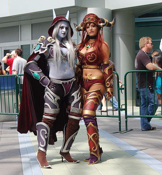 Warcraft cosplay porn