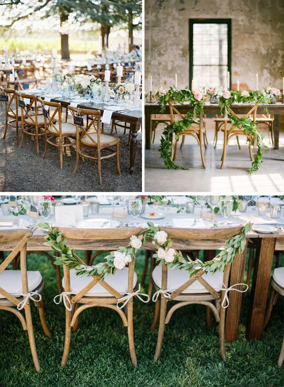 Sillas de madera para decorar en bodas wedding decor ideas pinterest sillas de madera - Sillas para bodas ...