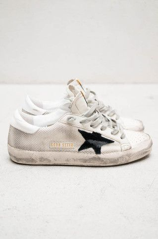 White Super Star Sneakers By Golden Goose Shopheist Com