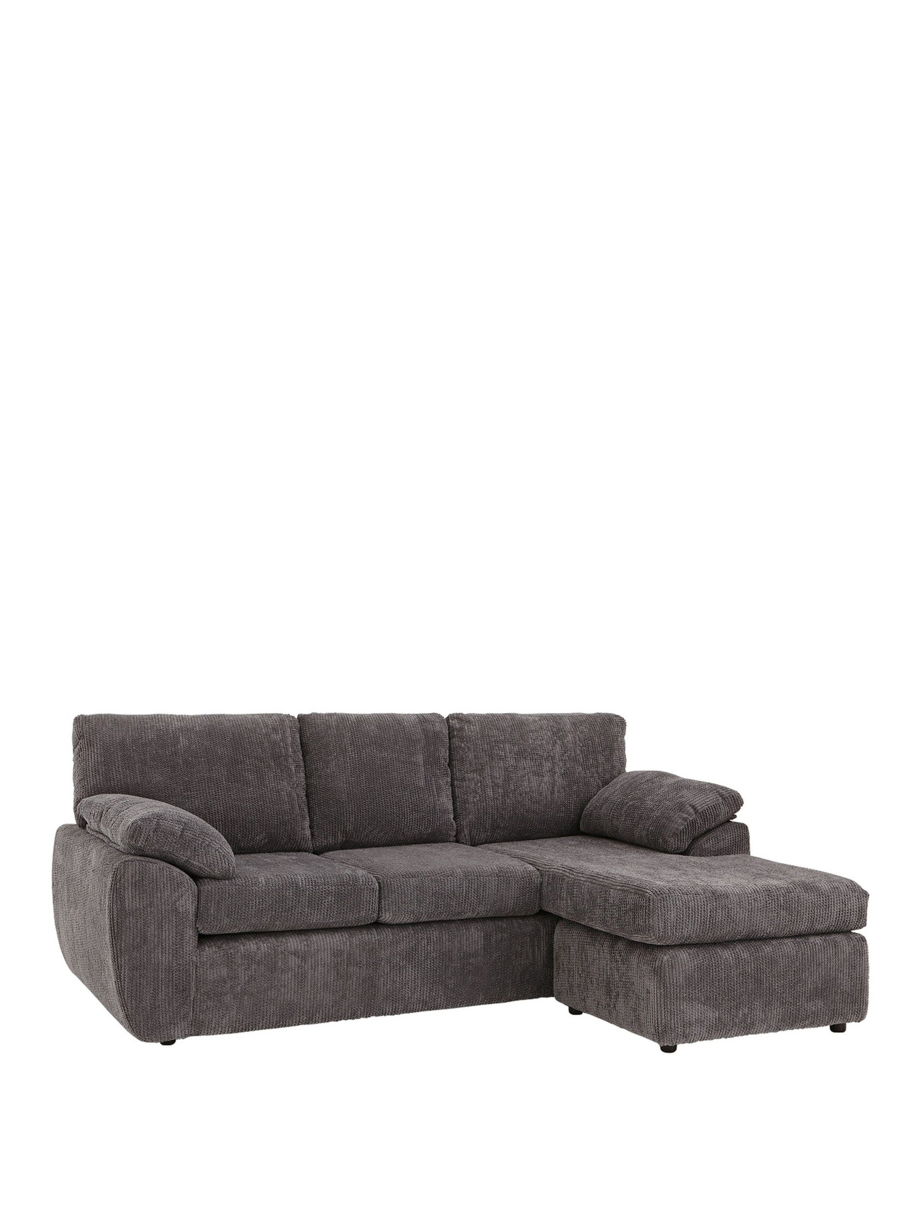 Superb Rebecca Fabric 3 Seater Reversible Corner Chaise Sofa Home Pdpeps Interior Chair Design Pdpepsorg