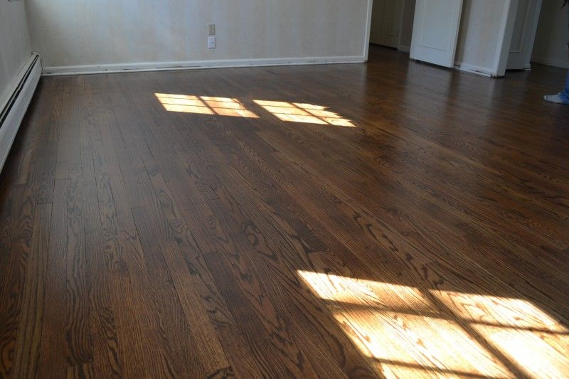 Floor Restoration And Painting Before Move In Refinishing Floors