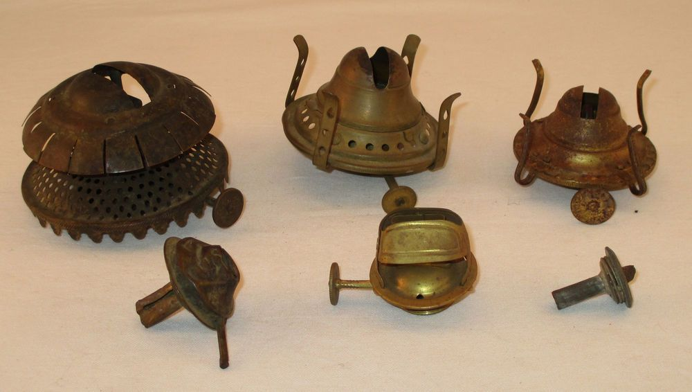 Lot of 6 antique oil lamp burners holmes booth hayden venus whale lot of 6 antique oil lamp burners holmes booth hayden venus whale aloadofball Image collections