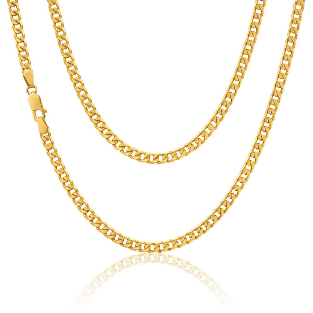 Gold · 9ct yellow Gold Curb Chain weighing 18 ...
