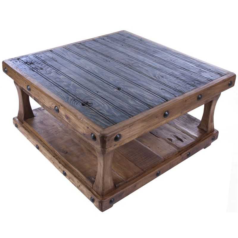 Square Coffee Table Diy: NRS - Reclaimed Square Coffee Table - NRSworld.com