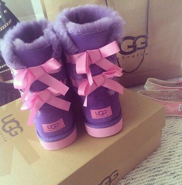 82148de3720 shoes boots purple pink ugg boots | fashion trends in 2019 | Uggs ...