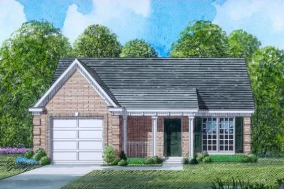 Traditional Style House Plan 3 Beds 2 Baths 1201 Sq Ft Plan 424 51 House Plans Floor Plan Design House